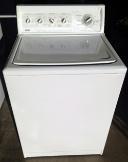 Kenmore top Load washer - $275.00 with a 90 day parts and labor warranty.